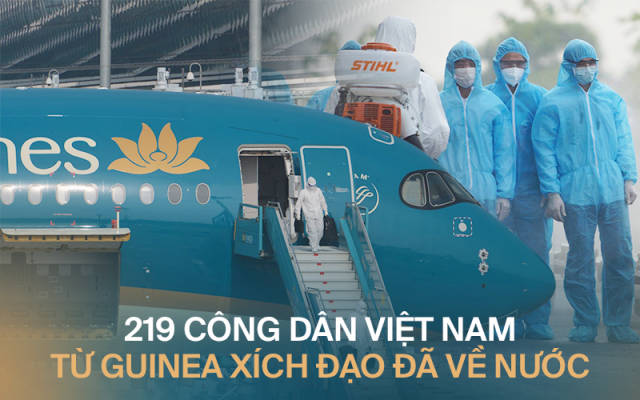 219 công dân Việt Nam